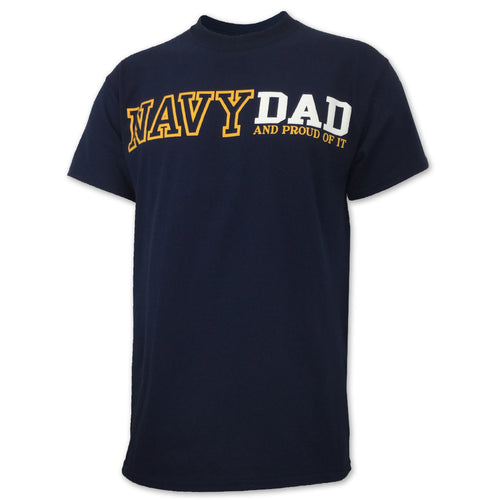 PROUD NAVY DAD T-SHIRT (NAVY) 3