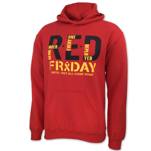 R.E.D. FRIDAY HOOD (RED) 2