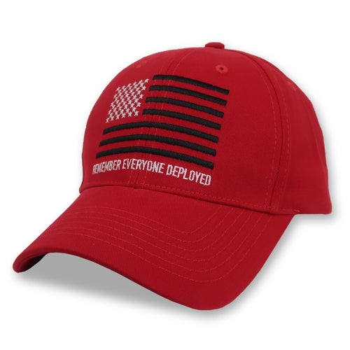 R.E.D. REMEMBER EVERYONE DEPLOYED HAT (RED) 2