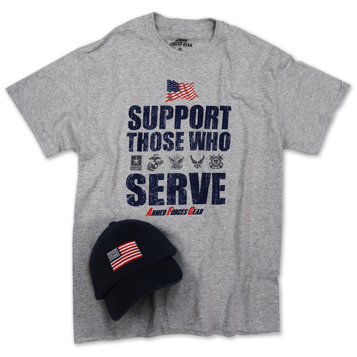 SUPPORT HAT & TEE COMBO