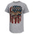 THESE COLORS DON'T RUN AMERICAN FLAG T-SHIRT (GREY)