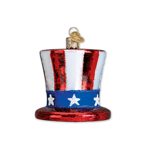 UNCLE SAM HAT ORNAMENT