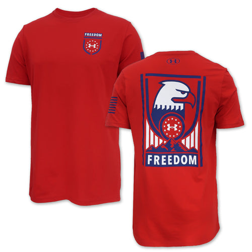 UNDER ARMOUR FREEDOM SENTINEL T-SHIRT (RED) 3