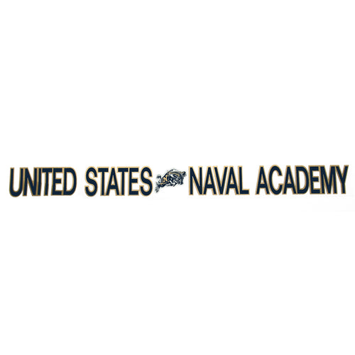 UNITED STATES NAVAL ACADEMY STRIP DECAL 1