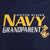 UNITED STATES NAVY GRANDPARENT T-SHIRT (NAVY) 1