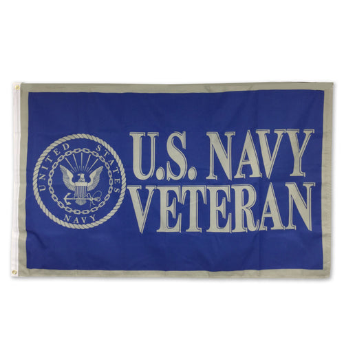 US NAVY VETERAN FLAG (3'X5')