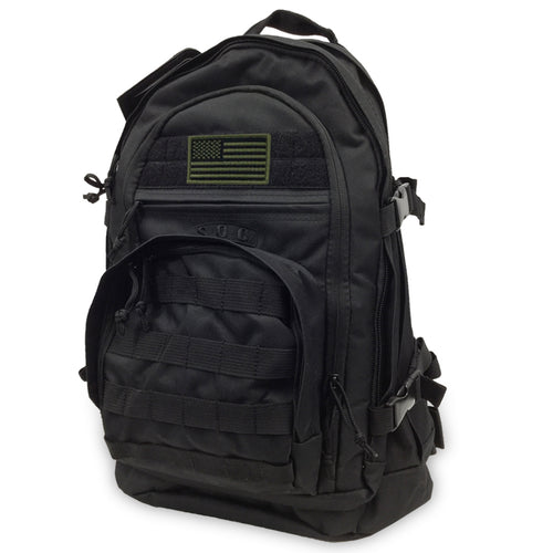 USA FLAG S.O.C. 3 DAY PASS BAG (BLACK)