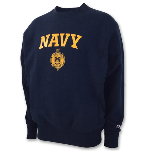 USNA ISSUE CHAMPION REVERSE WEAVE CREWNECK (NAVY) 2
