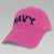 WOMENS NAVY ARCH HAT (PINK)