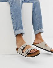 Load image into Gallery viewer, Birkenstock Arizona Pull Up Stone