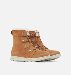 Women's Explorer Joan Boots in Camel Brown Waterproof
