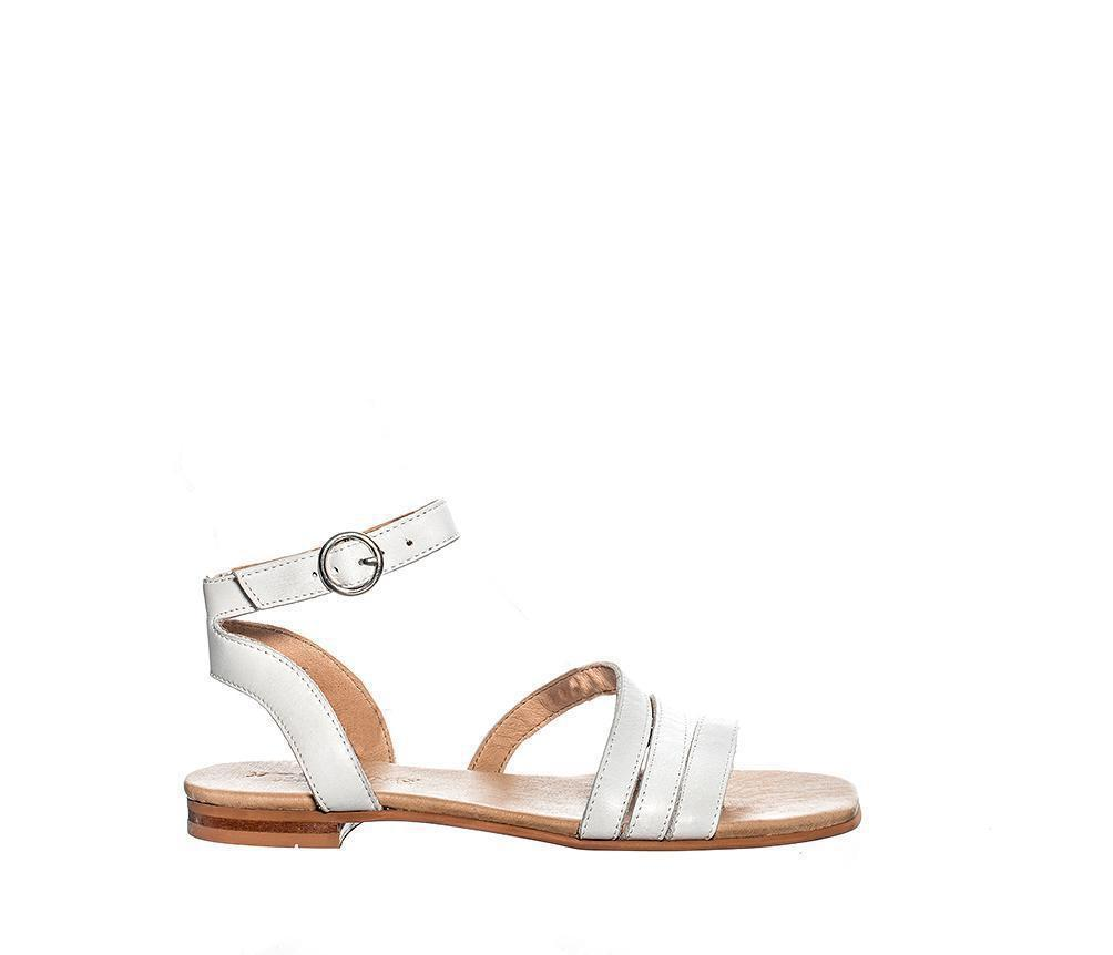 Ten Points Madeleine soft brushed leather White