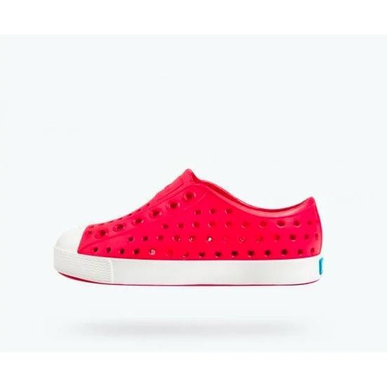 Native Kid's Jefferson Shoes Sakura Red
