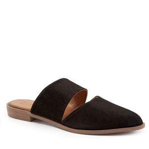 BUENO BANKS BLACK SUEDE