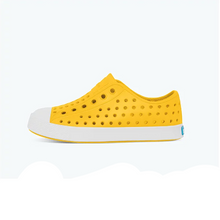 Load image into Gallery viewer, Native Kid's Jefferson Shoes Crayon Yellow