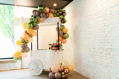 Balloon and Champagne Cart by Anemone