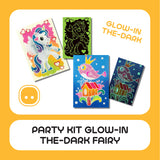Party Kit Glow-In-The-Dark Fairy 20pcs