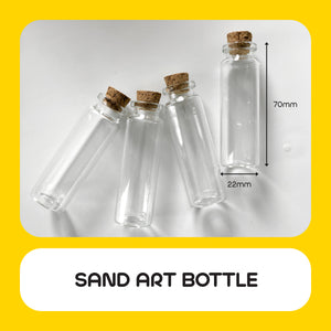 Sand Art Bottle 10pcs