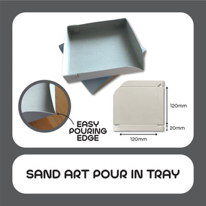 Sand Art Pour In Tray 50pcs