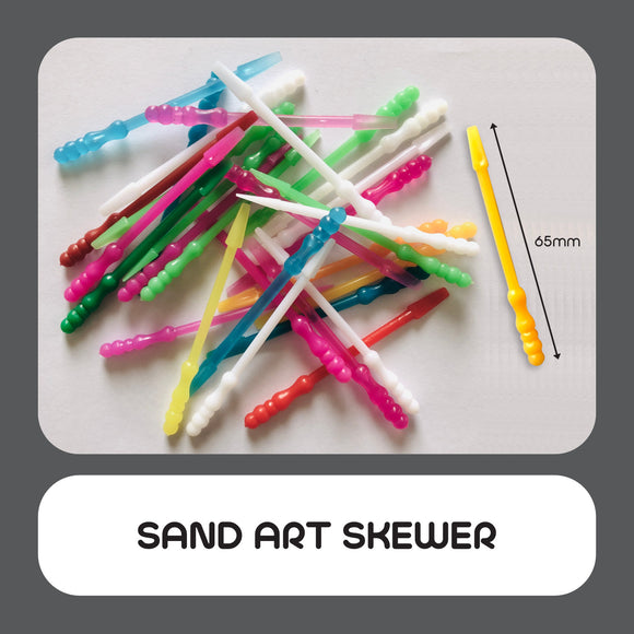 Sand Art Skewer 100pcs