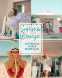 SUMMER BRONZE LIGHTROOM PRESET