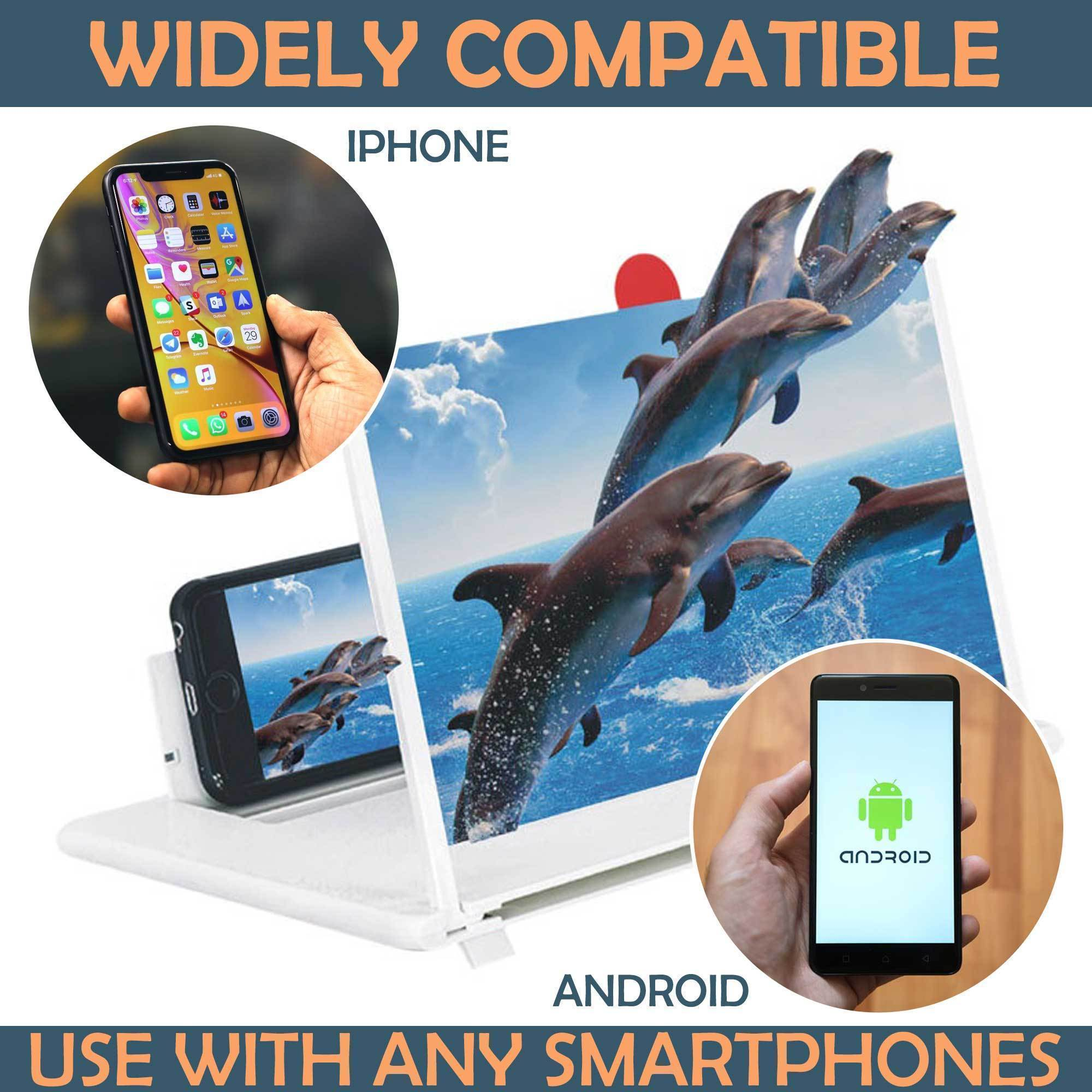 ModernQ Paper Thin Foldable Mobile Phone Amplifier