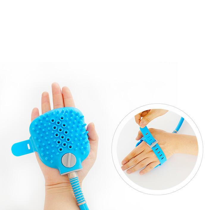 Pet Bathing Comfortable Massage Brush Shower