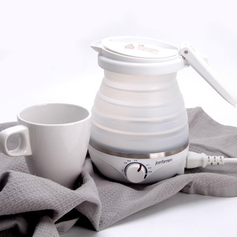 Nordic design travel household portable multifunctional folding kettle
