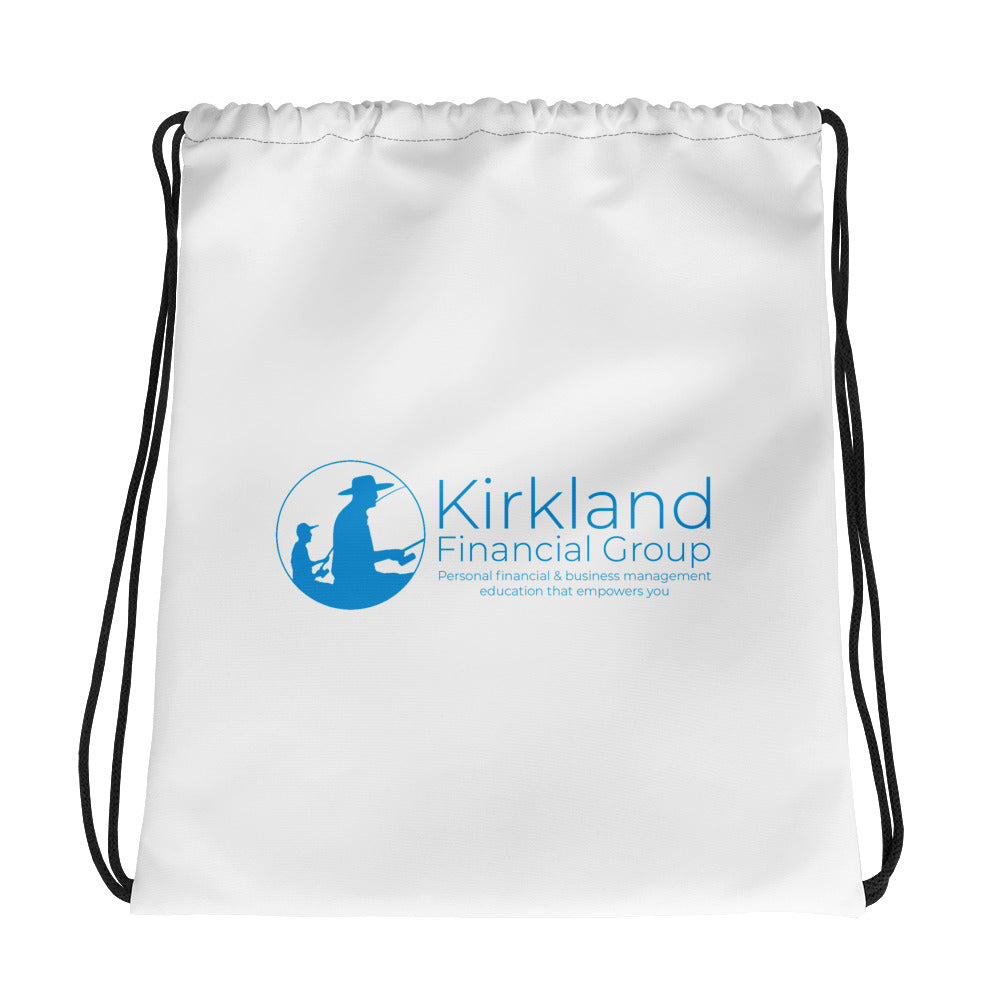 Kirkland Financial Group Drawstring Bag