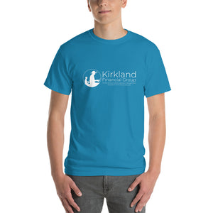 Kirkland Financial Group T-shirt, White Text