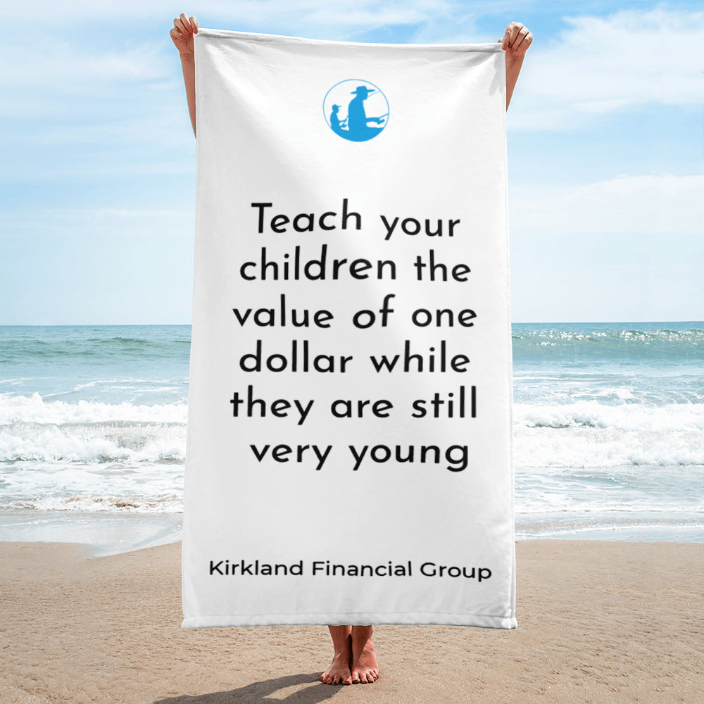 Teach Your Children The Value Of One Dollar Towel