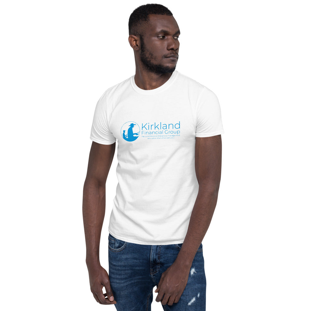 Kirkland Financial Group T-Shirt, Blue Text