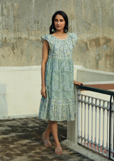 Blue Dhara Dress