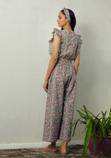 Grey-pink Zia  Jumpsuit