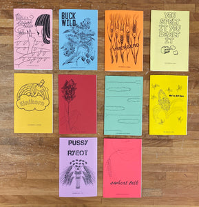 Grain Zines - Complete Set!