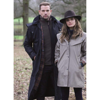 Jack Murphy Lambourne Men's Long Lightweight Waterproof Coat With Hood