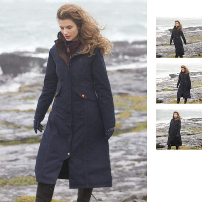 Jack Murphy Erin Women's Long Waterproof Winter Coat With Hood
