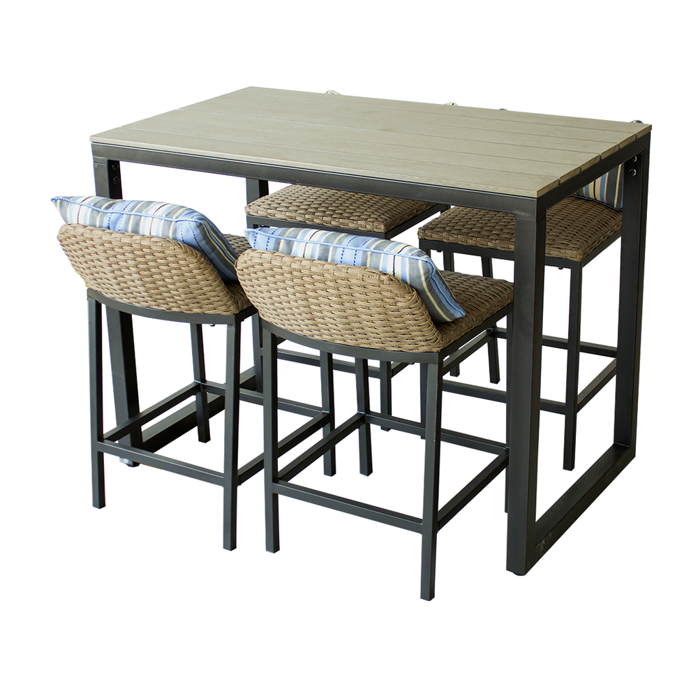 Concordia 5 Piece High Dining