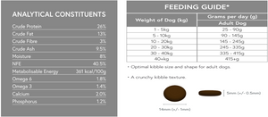 50% LAMB  <BR>Medium Breed / Grain Free Adult Dog Food
