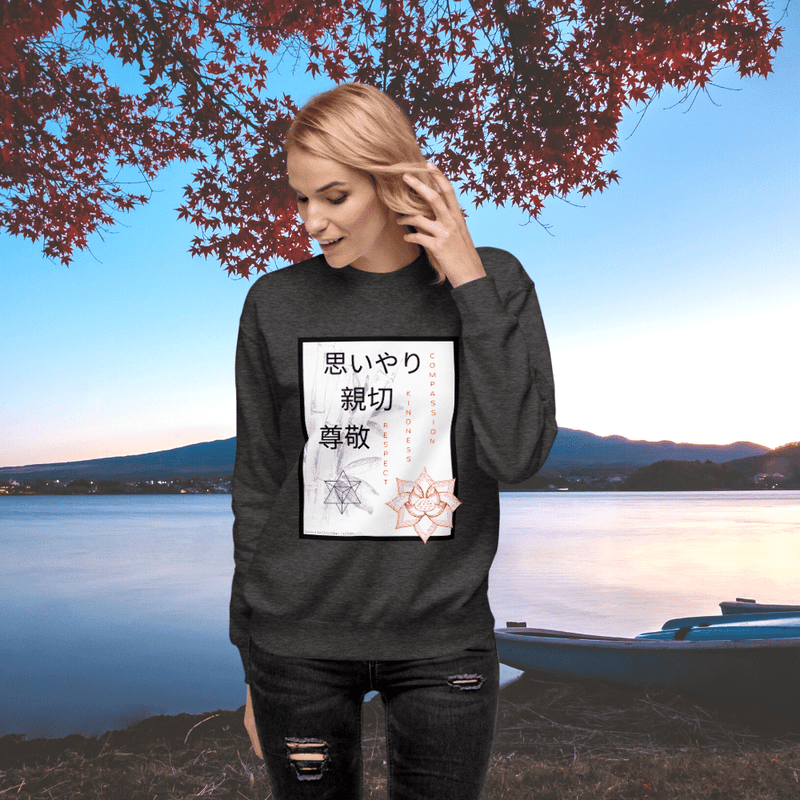 Compassion Kindness Respect Sweatshirt