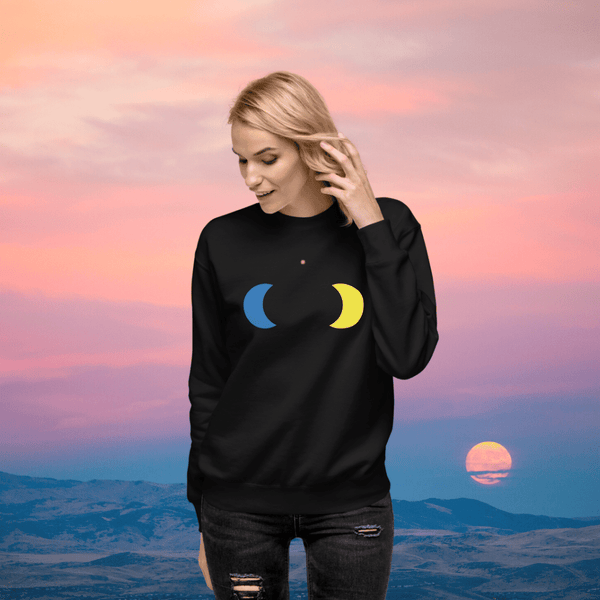 Moon Boobs Sweatshirt
