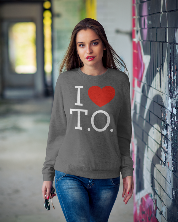 I Love Toronto Sweatshirt