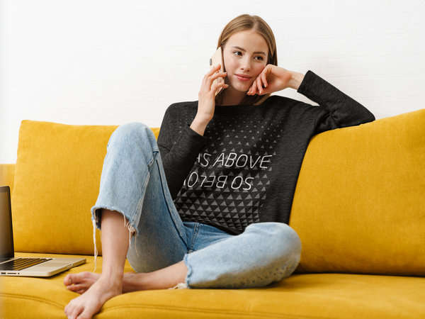 As Above So Below Sweatshirt