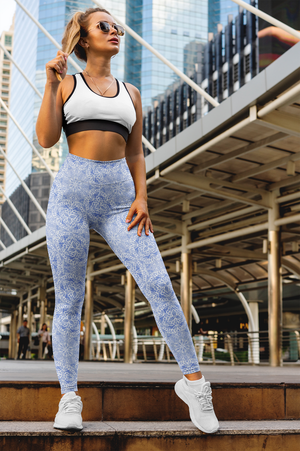 Tessellate Yoga Pants