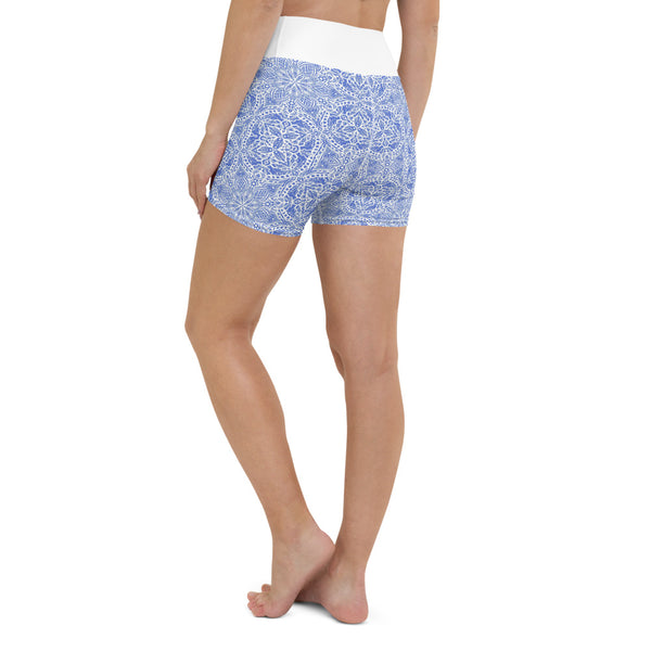 Tessellate Yoga Shorts