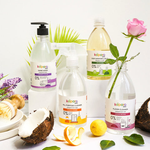 Koparo Natural Non Toxic Cleaners For Your House Kid Friendly Pet Friendly