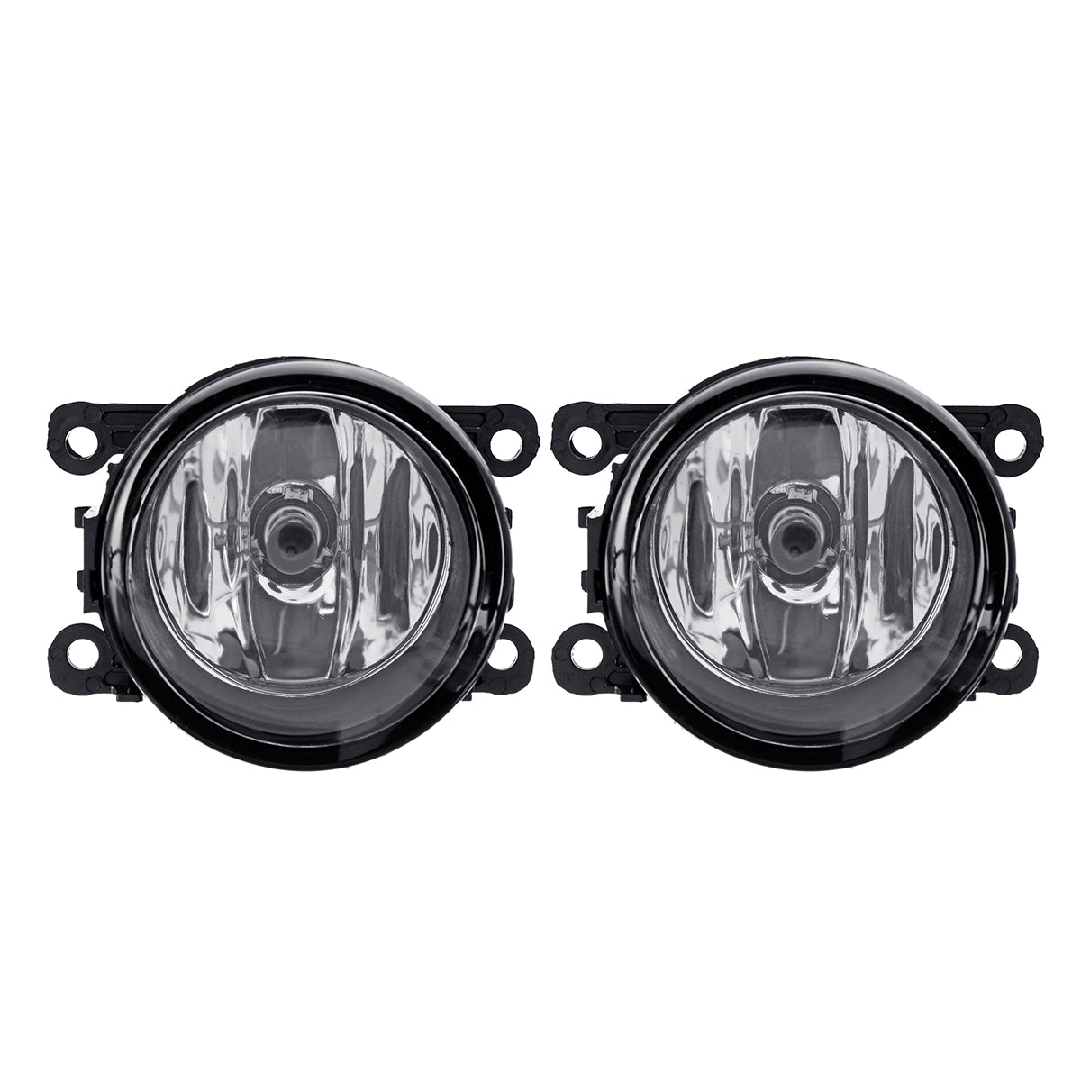 Car Front Bumper Fog Lights with H11 Lamps Harness Pair for Mitsubishi Outlander Sport/RVR/ASX