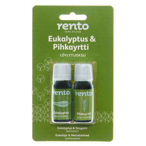 Eucalyptus & Forest Herbs Concentrate Sauna Scent - 2x10ml