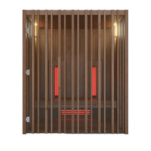 Irradia Infrared Sauna Cabin for 2-4 People by Auroom