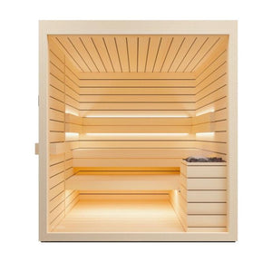 Lumina Sauna Cabin for 2-6 People by Auroom